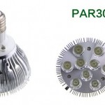 LED Par Spotlight 9W
