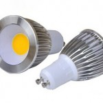 GU10 3W COB LED spot light