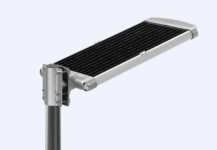 all in one solar led street light pad