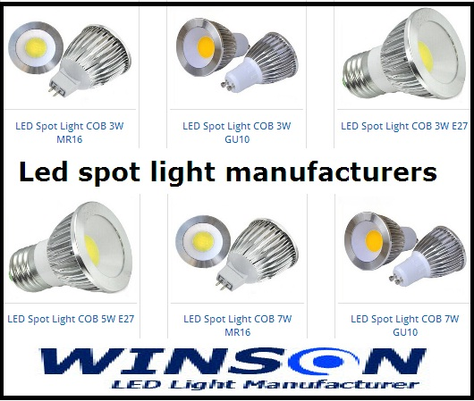 Led Spot Light Manufacturers
