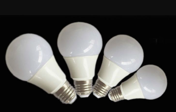 plastic plus aluminum LED bulb light