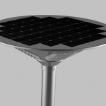 Integrated Solar LED Courtyard Light