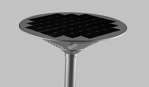 Integrated Solar LED Courtyard Light 01