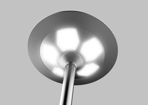 Integrated Solar LED Courtyard Light 02